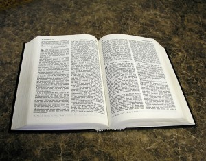 Holy Bible, Bible, open Bible,