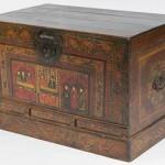 chest, wooden chest,