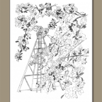 """""""Windmill and Blossoms"""""""