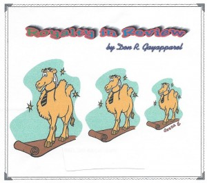 camel cartoon, Don R. Gayapparel