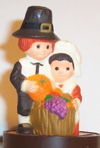 pilgrim sculpture, pumpkin, thanksgiving, holiday decoration,