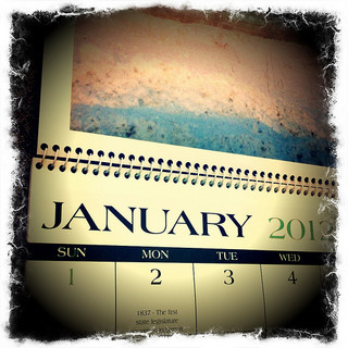 calendar, January, Winter,