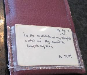 verse pack, Bible verse, Psalm 94:19,
