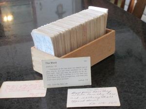 verse cards, Bible verses, verse card box, memory verses,