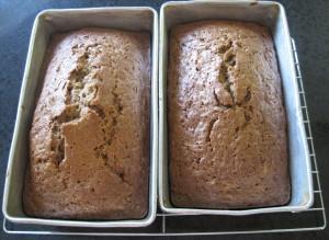zucchini bread, sweet bread, loaf pans, bread,