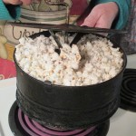 Caramel Corn Made in the Oven