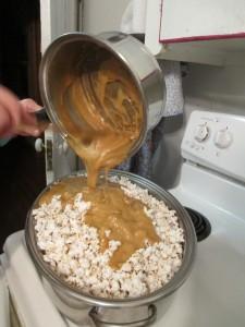 Lifetime cookware, caramel, caramel corn, popcorn,