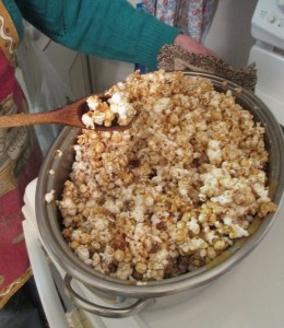 Lifetime cookware, caramel corn, popcorn,