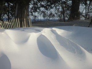 snow drifts, blizzard snow, snow fence,