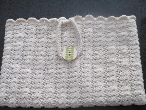 Crocheted purse, handbag, crocheted handbag,