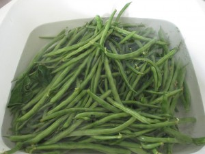 green beans, pole beans, cleaning beans, beans,