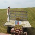 Loading a Hay Wagon
