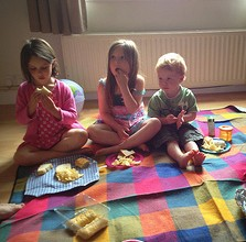 indoor picnic