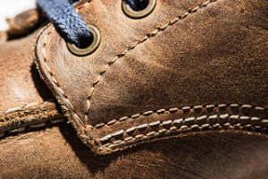 leather, leather boot,