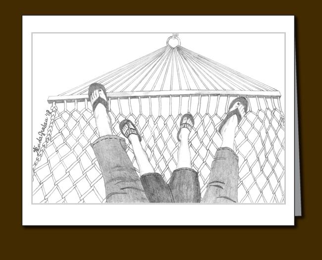 hammock, toes, sandals,